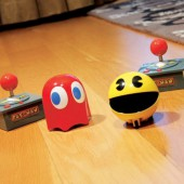 Pac-man et fant&ocirc;me radiocommand&eacute;s