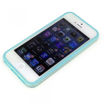 Protection bumper Bleu pour iPhone 5