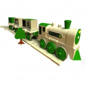 Kit train avec fabrication de rails recycl&eacute;s
