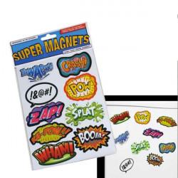 Magnets super-héros de réfrigérateur