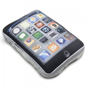 Coussin geek iphone