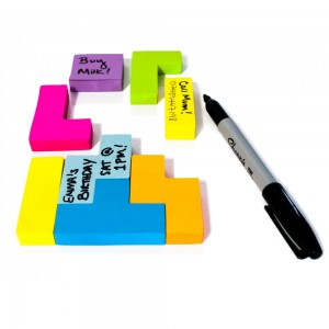Bloc-notes Post-it Tetris