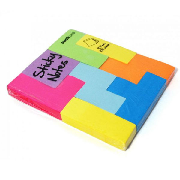 bloc notes post it tetris 8 55. Black Bedroom Furniture Sets. Home Design Ideas