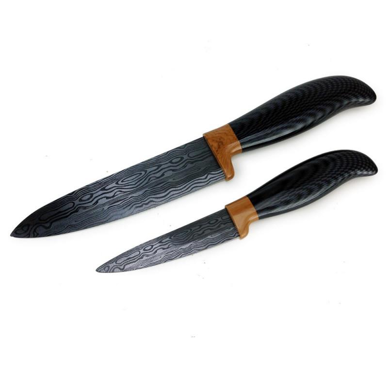 Ensemble de couteaux Céramique carbon