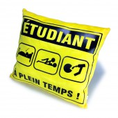 Coussin sp&eacute;cial &eacute;tudiant