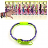 Bracelet fermeture &eacute;clair Zipper