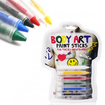 Crayons Body Paint