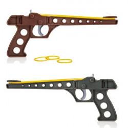 Duel pistolets élastiques à 6 coups