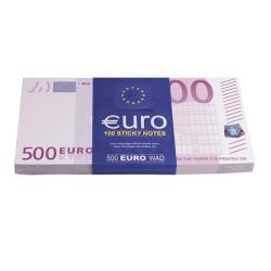 Bloc-notes Billets de 500 euros