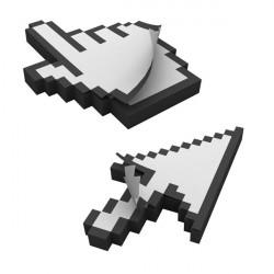Bloc-notes Curseurs Pixel