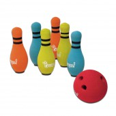 Jeu de bowling d&#039;int&eacute;rieur