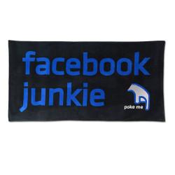 Serviette de plage Facebook