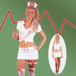 Kit déguisement express Infirmière