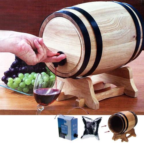 tonneau distributeur de vin 41 99. Black Bedroom Furniture Sets. Home Design Ideas