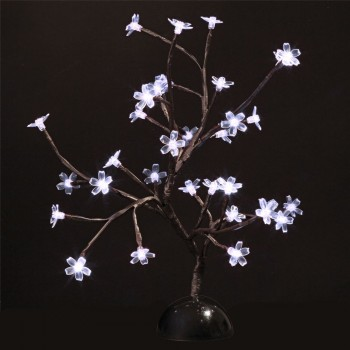 Arbre lumineux 32 Leds Blanches