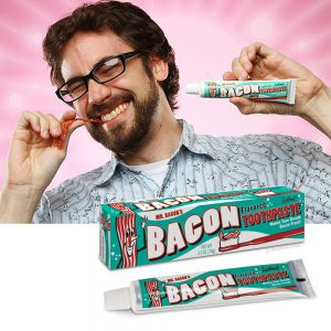Dentifrice bacon