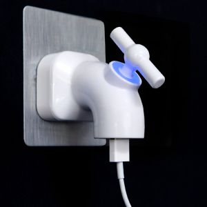 Chargeur USB robinet