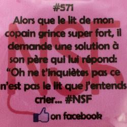 Préservatif humoristique Nuit sans folie 571