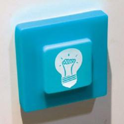Protège interrupteur phosphorescent