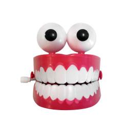 Dentier mécanique sauteur