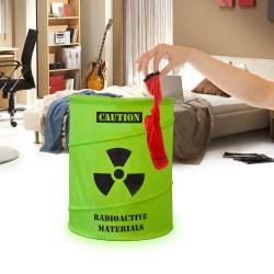 Panier à linge radioactif rétractable