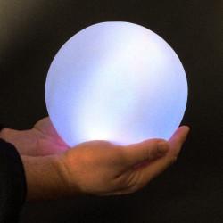 Boule lumineuse 18.5 cm LED multi-couleurs