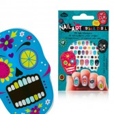 Nail art stickers pour ongles crânes mexicains
