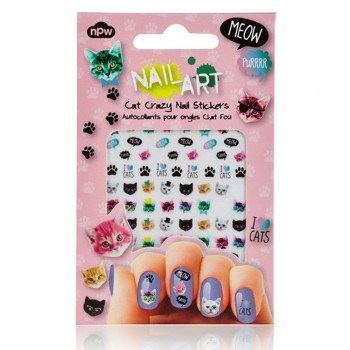 Nail art stickers chats