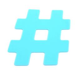 Dessous de plat Hashtag