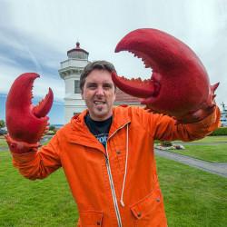 Pinces de homard géant