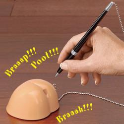 Porte-stylo fesses