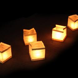 10 Lanternes flottantes