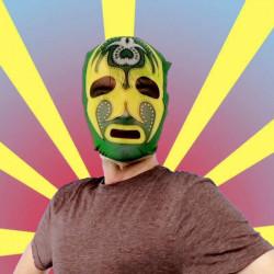 Masque Catcheur mexicain