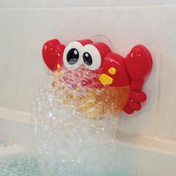 Crabe de bain à bulles