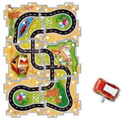 Puzzle circuit mécanique