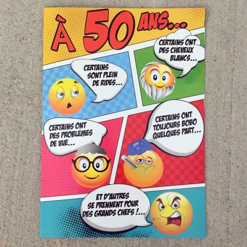 Anniversaire 50 Ans Humour