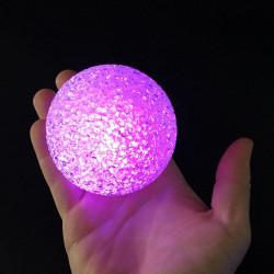 Boule led cristal 7,5 cm