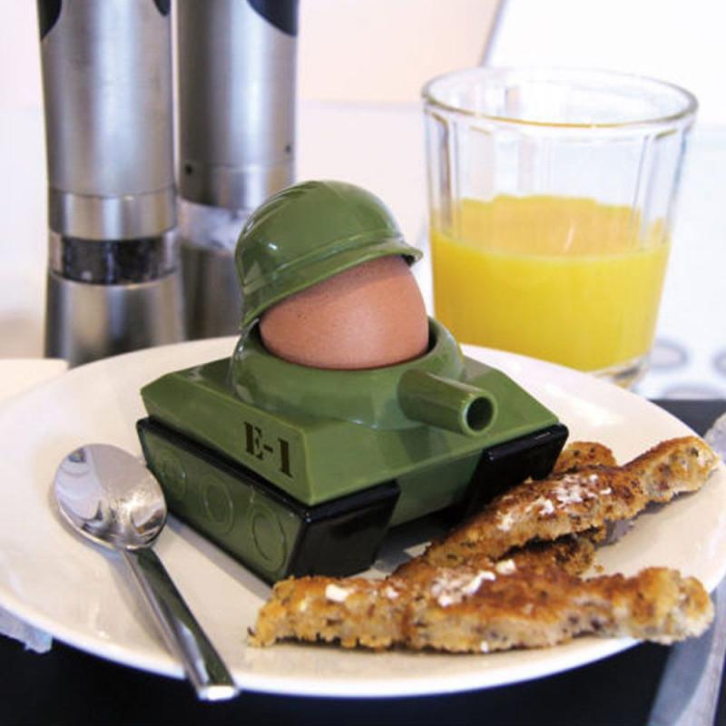 Set coquetier tank et toasts soldats
