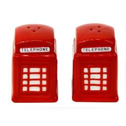 Sel et poivre cabine téléphonique London