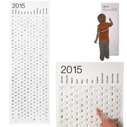 Calendrier 2015 bulles à éclater