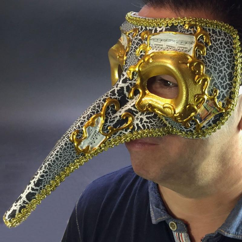 Masque de Venise nez long