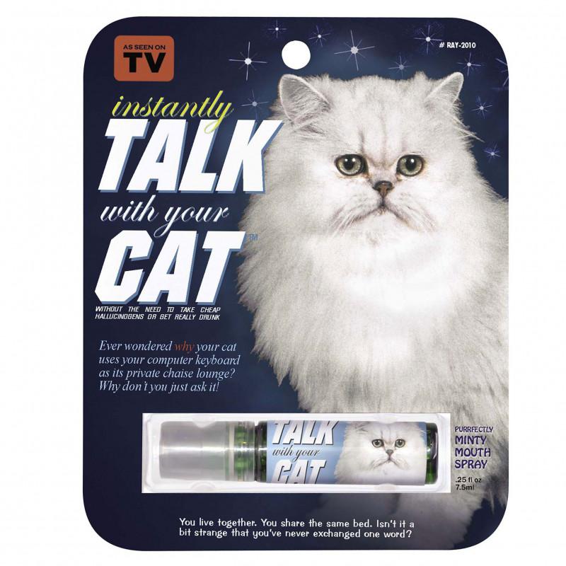 Spray pour parler à son chat