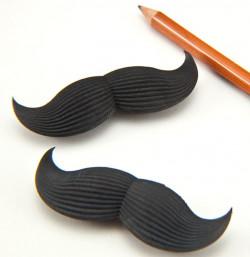 Lot de 2 gommes Moustache