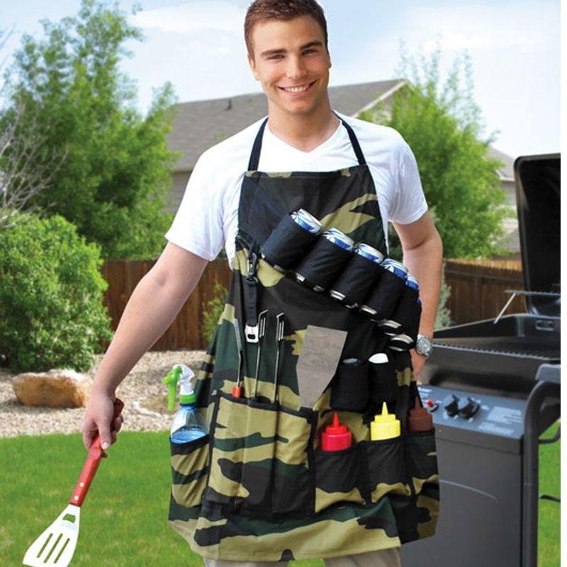 Tablier de barbecue Militaire