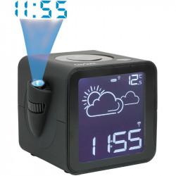 Radio-réveil projection station météo