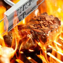 Marqueur de viande pour barbecue