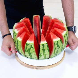 Coupe pastèque et melon