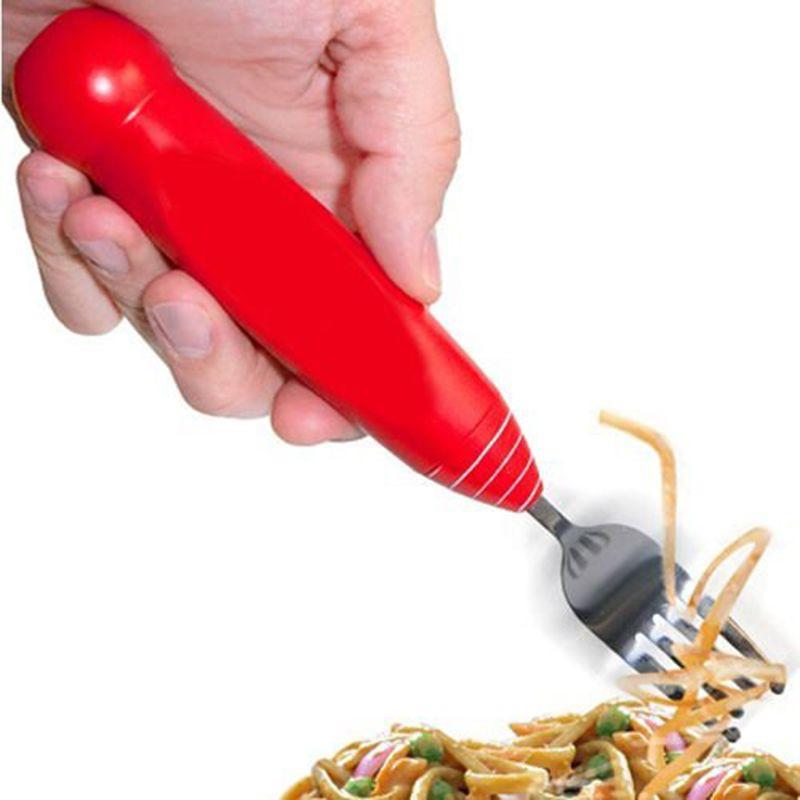 Fourchette à spaghettis motorisée
