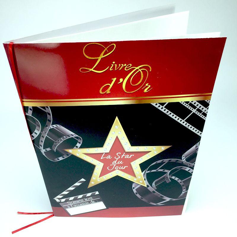 Livre d'or fête & anniversaire
