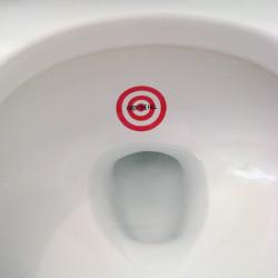 Cibles pour toilettes